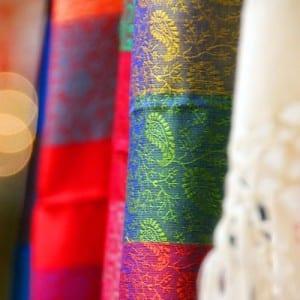 Confection de tentures - choix des tissus